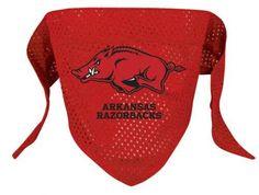 Arkansas Razorbacks Dog Bandana