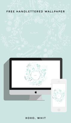 Floral iPhone and Desktop Wallpaper