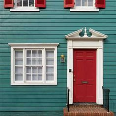 Red Front Door, Turquoise House