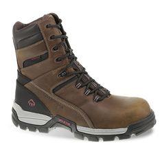 Wolverine Tarmac Men's Waterproof 8-in. Composite-Toe Work Boots, Size: medium (10.5), Lt Brown