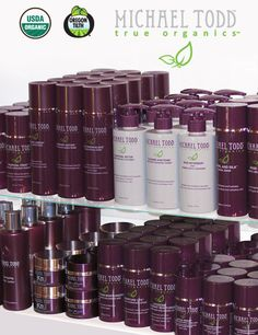 Michael Todd organic beauty products - everything from shampoo to facial toner. Great quality!! HIGHLY RECOMMEND ANY & ALL THESE PRODUCTS!!