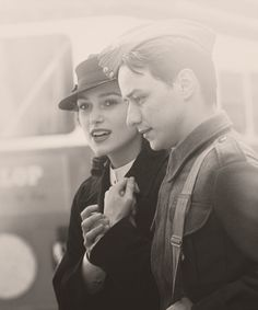 Keira Knightley (Cecilia Tallis) & James McAvoy (Robbie Turner) - Atonement (2007) #ianmcewan
