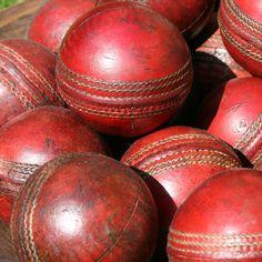 cricket balls (I think quidditch makes more sense..)
