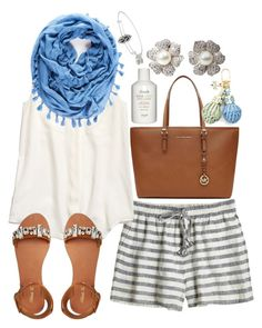 Untitled #284 by beansprout15 on Polyvore featuring Madewell, Calypso St. Barth, Miss KG, MICHAEL Michael Kors, Mappin & Webb, Alex and Ani, Columbia, Tory Burch and Fresh