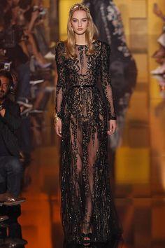 Coleção // Elie Saab, Paris, Inverno 2016 HC // Foto 55 // Desfiles // FFW Elie Saab, Yes To The Dress, Dress Up, Fancy Romper, Dream Dress, Runway Fashion, High Fashion, Nice Dresses, Ideias Fashion
