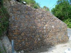 Devon Stone Walling Contact Form - Mortar bedded stone boundary wall Boundary Walls, Contact Form, Garden Spaces, Backyards, Landscape Architecture, Devon, Porches, Beautiful Homes, Sidewalk