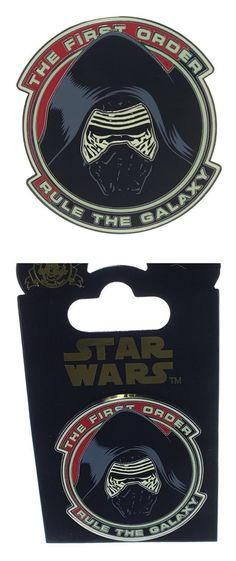 $6.1 - Disney Star Wars - Kylo Ren - Rule the Galaxy Pin #disney