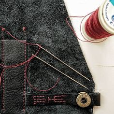 DIY | LEATHER | CRAFTING   #creative #hobby #handmade #handcrafted #minimalist #leather #black #red #details #inprogress #friday #inspiration #concept #idea #details #structure #leather #design #diy #leather  #astoryfornata #doityouself #selftought #ȘHE