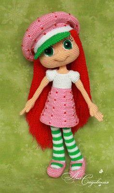 .crochet doll