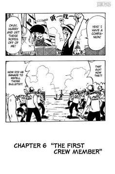 One Piece manga Capitulo 6