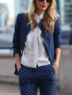 scallop blue jacket