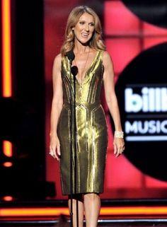 Celine Dion in Atelier Versace