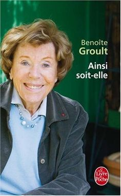 Benoîte Groult and her essential satirical feminist work, Thing 1, Who Runs The World, World Of Books, Lus, Lectures, Groult, Book Authors, Satire, Vinyl Records