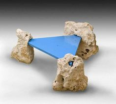 aqqindex:  Elisabeth Garouste and Maria Bonetti, Rock Table