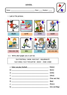 Awesome Action Verbs Worksheet For Grade 1 that you must know, Youre in good company if you?re looking for Action Verbs Worksheet For Grade 1 Reading Comprehension Worksheets, 1st Grade Worksheets, Worksheets For Kids, Printable Worksheets, English Teaching Materials, Teaching English Grammar, English Lessons, Learn English, Modal Can