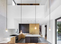 Interior shot of Naturehumaine's recently completed extension to a 1920s Montreal home.