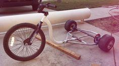Motorized Drift Trike - STEP / IGES,Autodesk Inventor - 3D CAD model - GrabCAD Electric Drift Trike, Drift Trike Motorized, Bike Drift, Drift Trike Frame, Bicycle Cart, Go Kart Frame, Homemade Go Kart, Autodesk Inventor, Custom Trikes