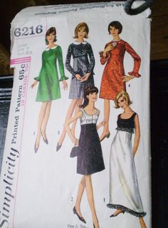 Hey, I found this really awesome Etsy listing at https://www.etsy.com/ca/listing/222140869/1960s-party-dress-sewing-pattern