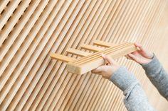 Yusuke Seki : Tadafusa Factory Showroom - ArchiDesignClub by MUUUZ - Architecture & Design Bar Design, Store Design, Shelf Design, Wood Design, Design Ideas, Modular Furniture, Furniture Design, Regal Design, Interior Architecture