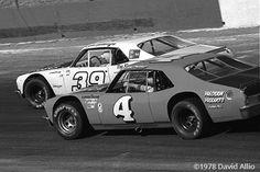 Hickory Speedway 1978 John Settlemyre Bob Pressley