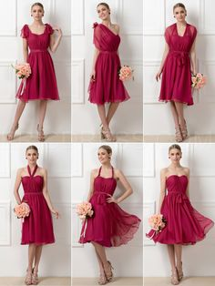 ericdress.com offers high quality  Ericdress Stylish A-Line Tea-Length Convertible Bridesmaid Dresses Bridesmaid Dresses 2015 unit price of $ 78.11.