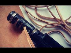 Como hacer una tira de cuero perfecta, explicación paso a paso. Curso básico de cuero. Diy Leather. - YouTube