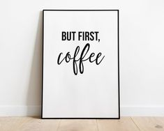 Coffee Wall Art, Digital Download, Coffee Wall Decor, Coffee Print, Coffee Art,Inspirational Wall Art, Office Wall Art, Office Decor