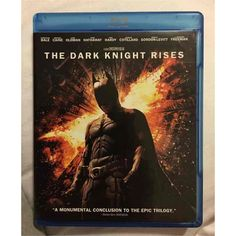 Dark Knight Rises (Blu-Ray, Dvd, Ultraviolet Combo Pack) from Warner Bros.: It has been eight years since Batman… Video Batman The Dark Knight, The Dark Knight Trilogy, The Dark Knight Rises, Lucius Fox, Movies For Sale, As Good As Dead, Really Good Movies, 2012 Movie, Batman Begins