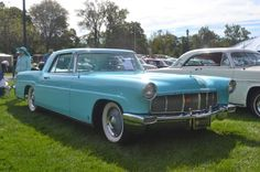Despite the name, this Continental Mark II is not a Lincoln product. The Continental Mark II was Ford's effort to rival the top luxury marquees from Europe, and was positioned as a halo brand above the already-luxurious Lincoln. Each Continental was built to an exacting degree, with beautiful appointments and paintwork that were far beyond its field of competitors from the U.S.