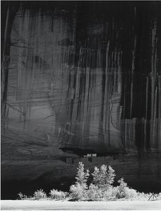 Ansel Adams (American, 1902-1984), White House Ruin, Morning, Canyon de Chelly National Monument, Arizona, 1949. Silver print, printed 1973/74.