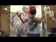 Nic Plowman talks about his work - Art and Life - YouTube