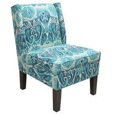 I pinned this Marlon Wingback Chair in Himalaya Teal from the Cloverbloom Studios event at Joss and Main!