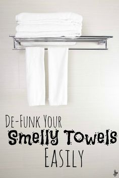 De-Funk Your Smelly Towels Easily by Couponin Diva Smelly Towels, Household Chores, Household Tips, Neat And Tidy, Me Clean, Organizing Your Home, Homemaking, Clean House, Furniture Decor