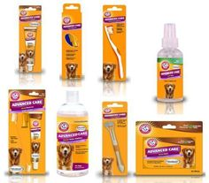 Arm & Hammer Advanced Dog Oral Tooth Care Brushes Spray Toothpaste Water Mints #ArmHammer