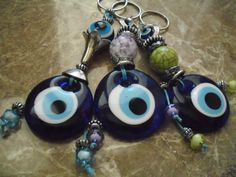 Your place to buy and sell all things handmade Greek Evil Eye, Hamsa, Washer Necklace, Eyes, Unique Jewelry, Handmade Gifts, Vintage, Kid Craft Gifts, Craft Gifts