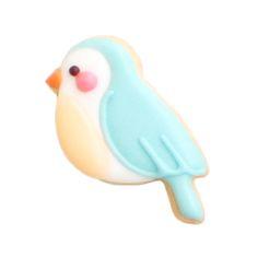 青い鳥のクッキー