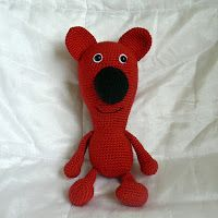 Bear free crochet Pattern by blogger Kamlin