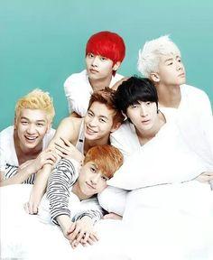 VIXX ♡ N , Leo ,Ken, Ravi , HongBin and Hyuk