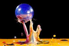 Liquid Art & Droplet Photography