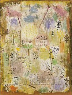 Landscahft zw Fruhling 1935 Paul Klee