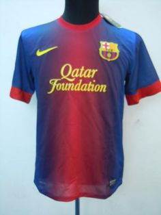 Filtration of the shirt of FC Barcelona for the 2012-13 season #FCB