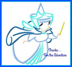 Merriweather the Good Fairy from Sleeping Beauty Sketch Digital Embroidery Machine Applique Design File 4x4 5x7 6x10 by Thanks4TheAdventure on Etsy