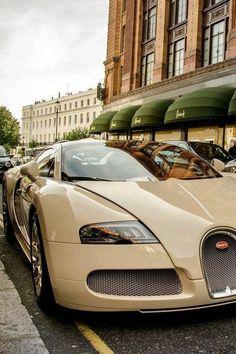 #beauty #bugatti #car #classy #cream #luxurious #luxury