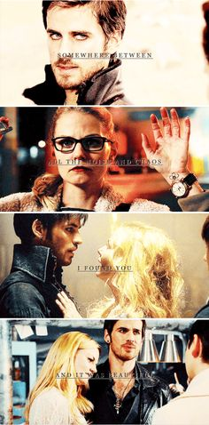 Somewhere between all the noise and chaos, I found you and it was beautiful #ouat