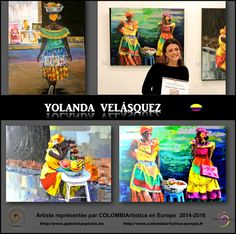 Europe, Painting, Colombia, Artists, Painting Art, Paintings, Painted Canvas