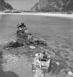 Kerkyra Island, Photo by Petros Brousalis Old Photos, Greece, Past, Island, Black And White, World, Water, Summer, Photography