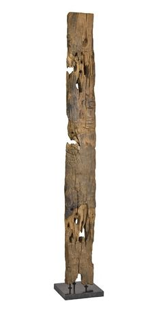 Moes Home Collection 12 Inch Wide Hand Carved Wood Panel on Black Marble Brown Home Decor Accents Statues & Figurines Driftwood Sculpture, Driftwood Art, Abstract Sculpture, Salvaged Wood, Teak Wood, Contemporary Decorative Objects, Brown Home Decor, Wood Appliques, Moe's Home Collection