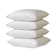 of Eco-Classic Standard Pillows; These standard pillows measure by count cotton cover Filled with lofty recycled fiber BioPedic Eco-Classic Count Standard Pillows, Waverly Bedding, Waverly Fabric, Pillow Lounger, Pillow Set, Pillos, Sweet Home, Pillows Online, Pillow Reviews, Diy Pillows