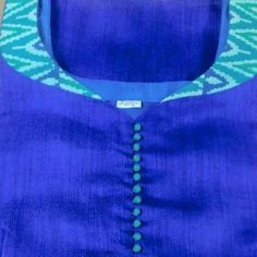 How to make different types of kurthi neck patterns Courtesy: Needle Magic Kurtis have become a very integral outfit it Indian fashion industry. Salwar Neck Patterns, Neck Patterns For Kurtis, Salwar Suit Neck Designs, Churidar Designs, Kurta Neck Design, Cloth Patterns, Chudithar Neck Designs, Kurtha Designs, Neck Designs For Suits
