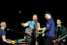 Here Coldplay New, Coldplay Tour, Coldplay Magic, Love Band, Great Bands, Cool Bands, Chris Martin, Eve Show, Phil Harvey